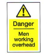 Danger Men Working Overhead 4